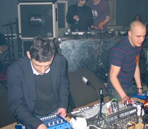 Modeselektor live 2005
