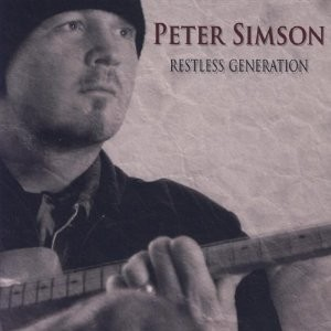 Peter Simson - Restes Generation, omslag