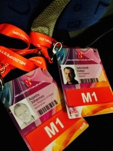Melodifestivalen Badge 2015