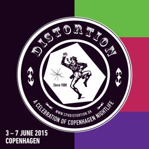 Distortion - gatutechnofestival i Köpenhamn 3-7 juni