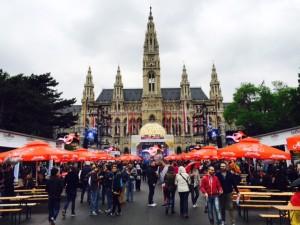 Eurovision Vilage, Rathausplatz Wien.