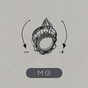 Martin Gore - MG, Omslag