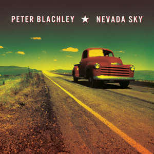 Peter Blachley - Nevada Sky, omslag