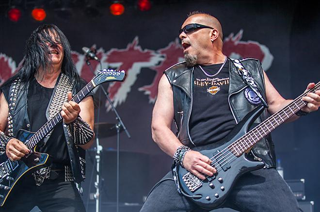 Exciter Sweden Rock Festival, 2015