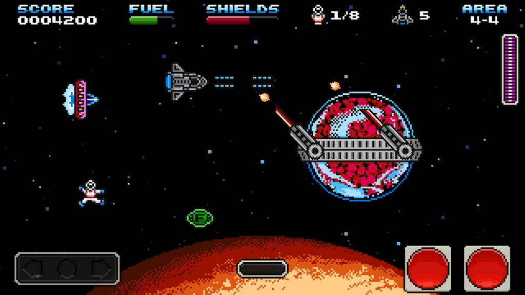 Shuttle Scuttle, spel med soundtrack av Inverse Phase.
