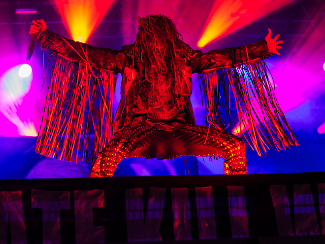 Rob Zombie Getaway Rock Festival 2015