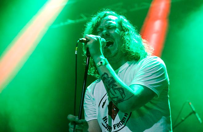 Skogen Brinner - Getaway Rock Festival 2015