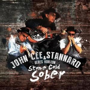 John Cee Stannard & Blues Horizon -Stone Cold Sober, omslag