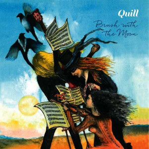 Quill - Brush With The Moon, omslag