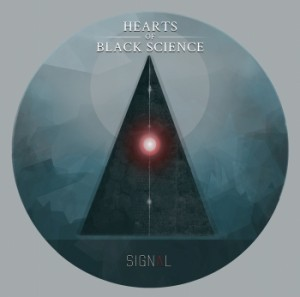 Hearts Of Black Science - Signal, omslag