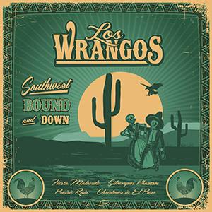 Los Wrangos -Southwest Bound And Down, omslag