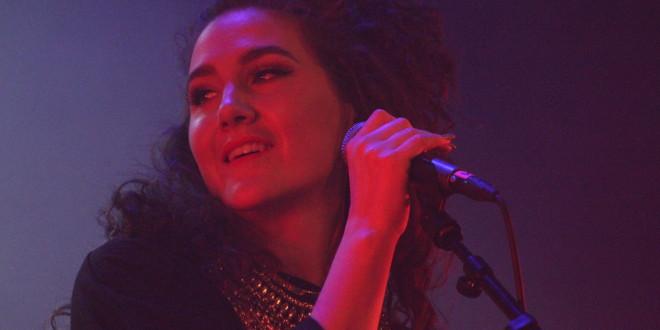 Maria Hazell på Where's the Music i Norrköping 2016. Foto: Jürgen Krado.
