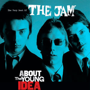 The Jam - About the Young Idea, omslag