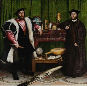 Hans Holbein den yngre: Ambassadörerna 1533.