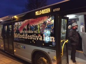 Zero provade Mellobussen i Halmstad.