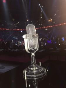 Eurovisionpriset var på plats igår i Frans arena.