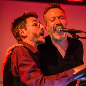 Oogo Maia och Neil Arthur. Foto: Petter Duvander.