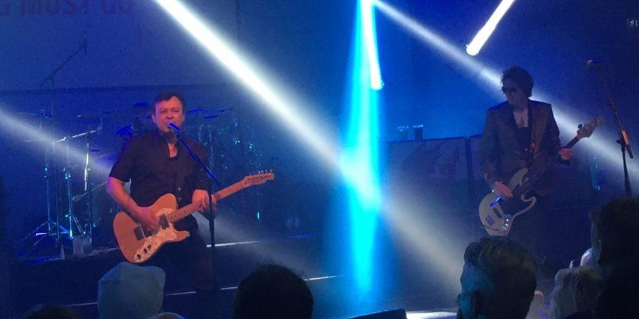 Manic Street Preachers live på Münchenbryggeriet 22 april 2016. Foto: Fredrik Emdén.