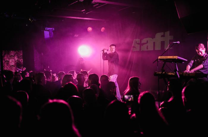 Saft, playing live at Electrixmas in Malmö, December 12 2015.