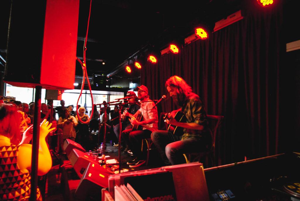 Band of Horses live på Debaser. Foto: Michel Engström Johnsson.