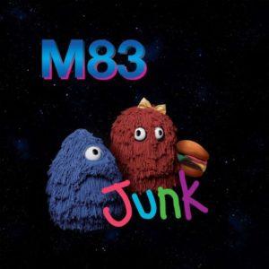 M83 - Junk, omslag