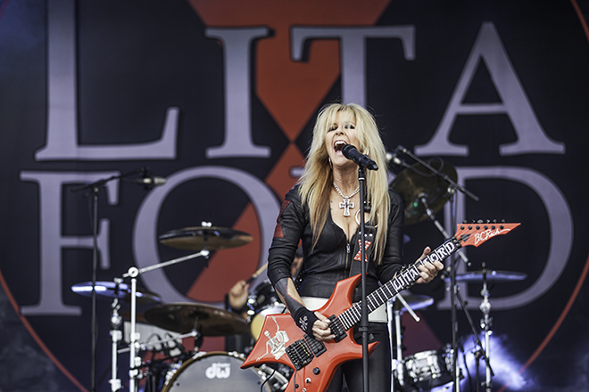 Sweden Rock Festival 2016, Lita Ford