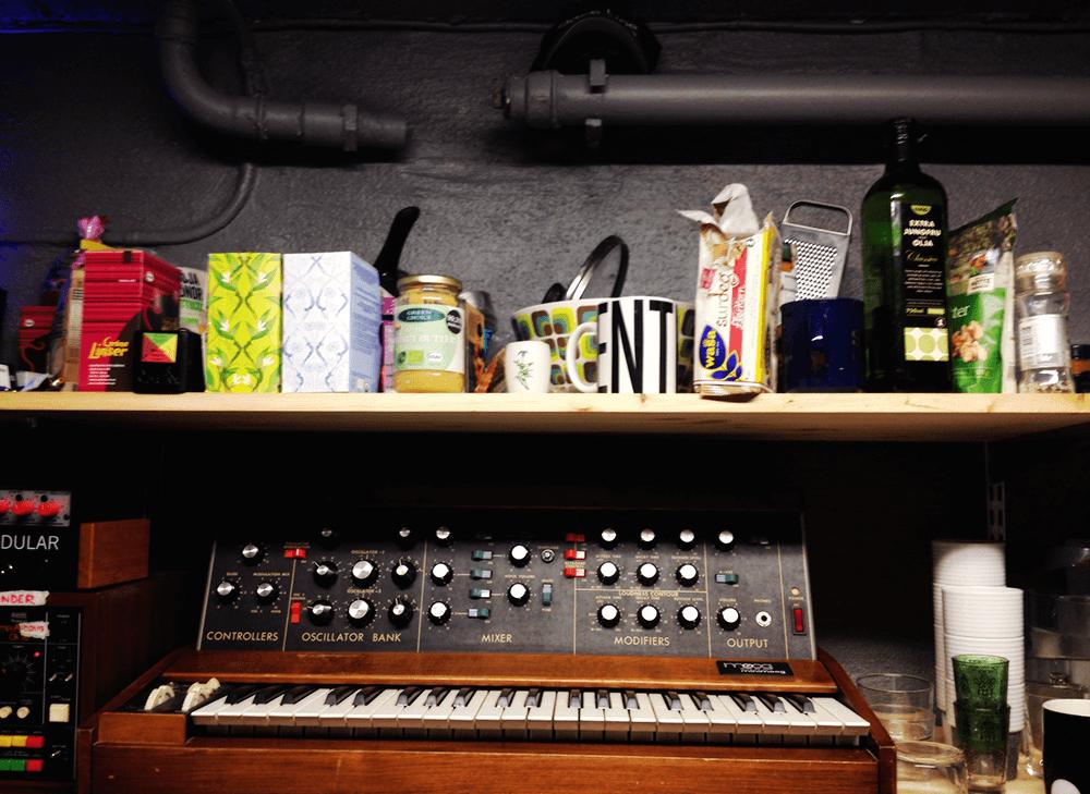Andreas Tillianders studio. Foto: Zac Fors.