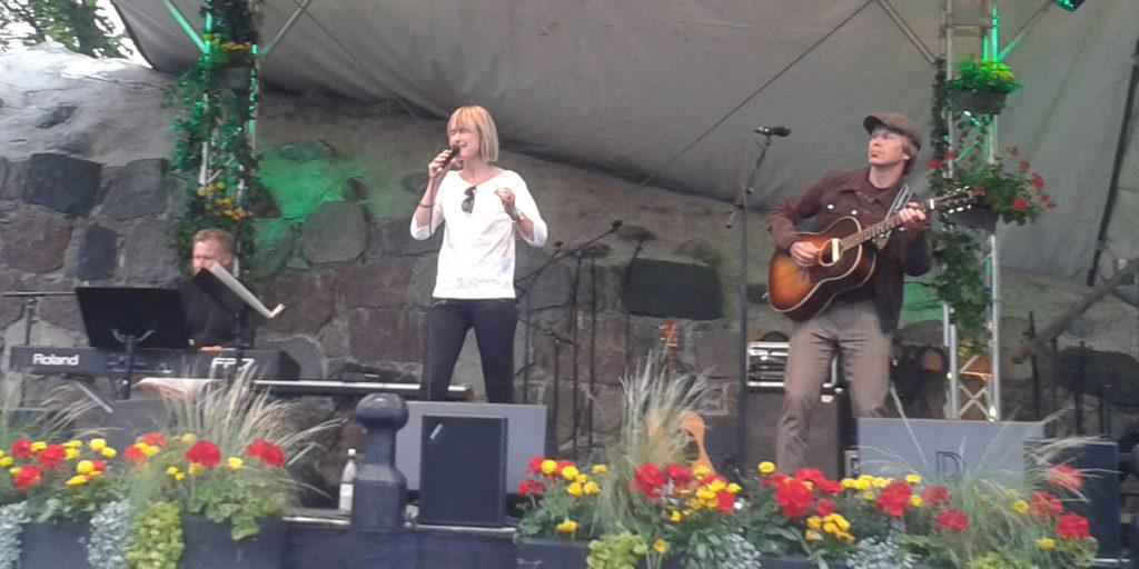CajsaStina Åkerström på Visfestivalen i Västervik 2016. Foto: Tobias Pettersson.