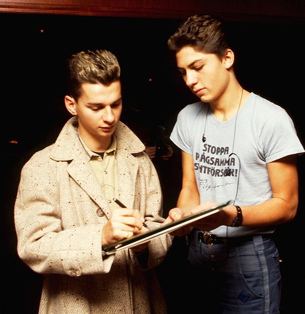 Backstage Draken 1983