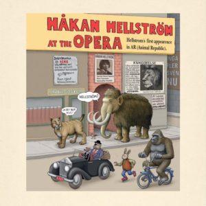 Håkan Hellström - Du gamla du fria, omslag