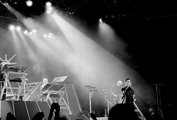1986-204-26 Depeche Mode pScandinavium Foto: Lars Alexi *** Local Caption *** Blad 184