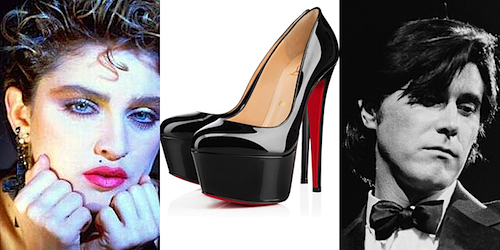 Madonna, Ferry, Shoes