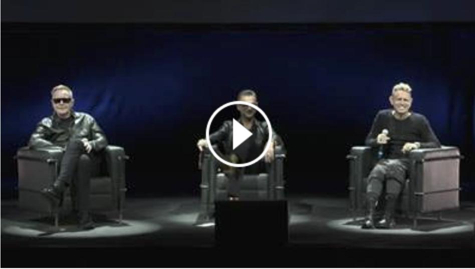 Depeche Mode - Presskonfbild