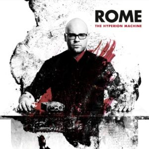 rome - the hyperion machine, omslag