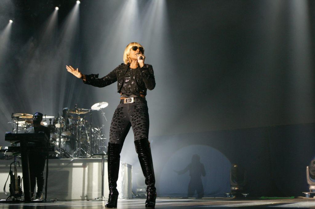 Mary J Blige och Maxwell live på Annexet Stockholm den 22 oktober 2016. Foto: Ernst Adamsson Borg.