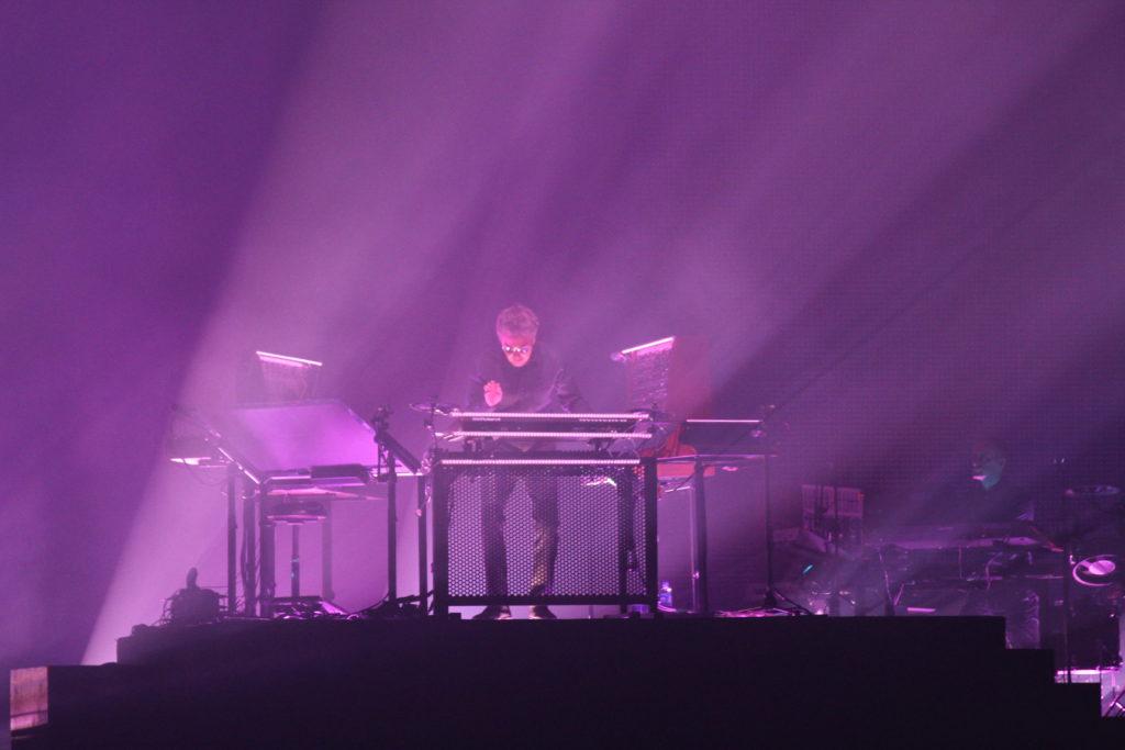 Jean-Michel Jarre live på Hovet den 29 oktober 2016. Foto: Ernst Adamsson Borg.