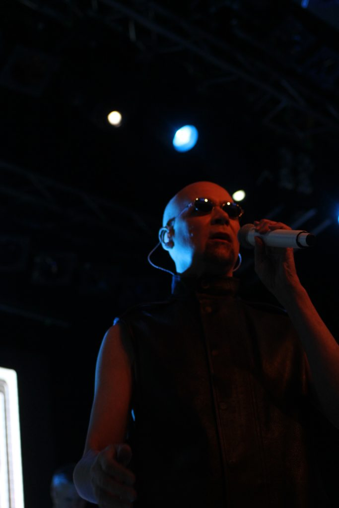 The Human League live på Debaser Medis den 11 november 2016. Foto: Ernst Adamsson Borg.