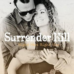 Surrender Hill -Right Here Right Now, omslag