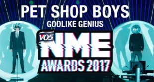 Pet Shop Boys NME Awards 2017