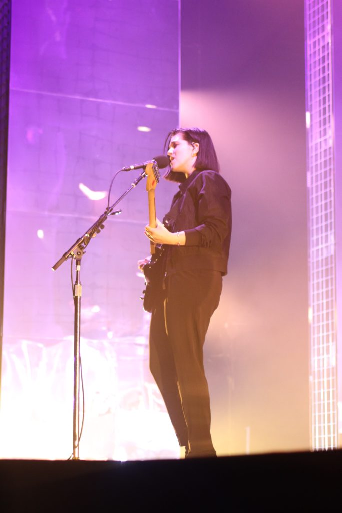 The xx live på Hovet i Stockholm den 8 februari 2017. Foto: Ernst Adamsson Borg.