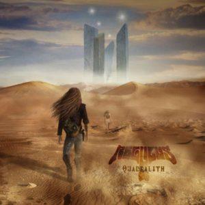 Regulus - Quadralith, omslag