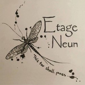 Etage Neun - This Too Shall Pass, omslag
