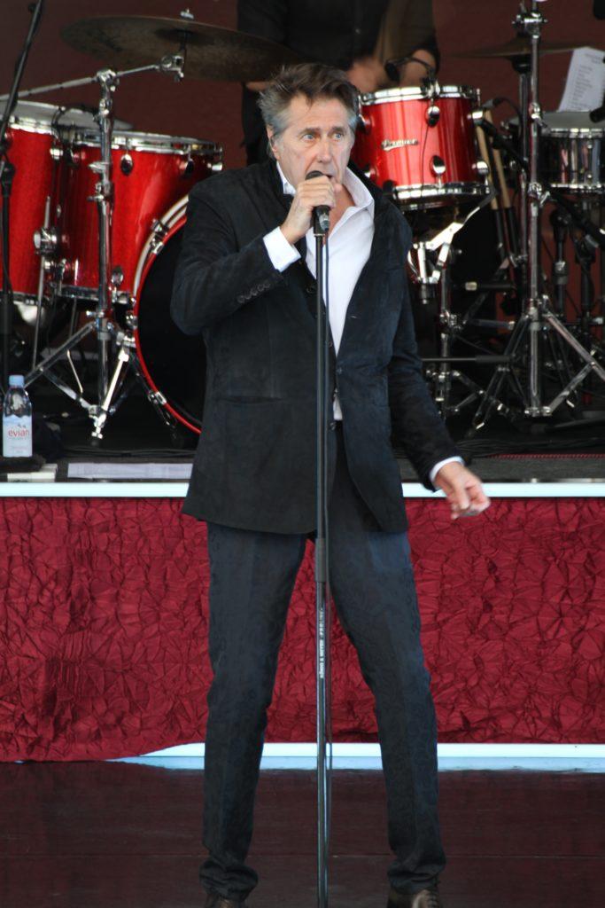 Bryan Ferry live på Gröna Lund den 15 juni 2017. Foto: Ernst Adamsson Borg.
