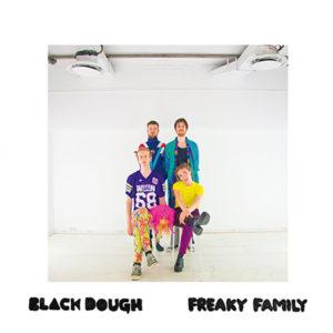 Black Dough -Freaky Family, omslag