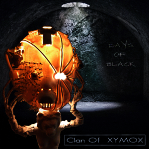 Clan Of Xymox - Days Of Black, omslag