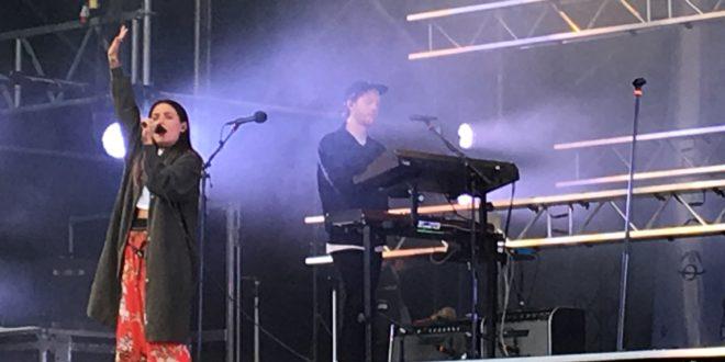 Miriam Bryant live på Västerås cityfestival den 30 juni 2017. Foto: Mathilda Åhs.
