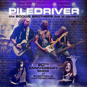 Piledriver -The Boogie Brothers Live In Concert, omslag
