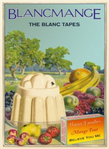 Omslag: Blancmange, The Blanc Tapes