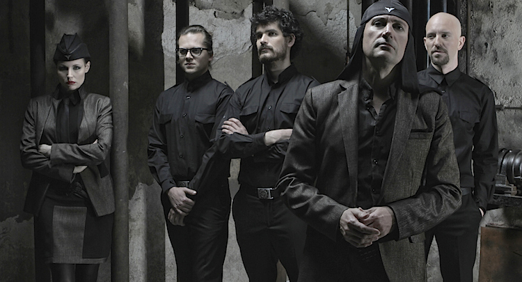 Laibach press, photo by Luka Dekleva