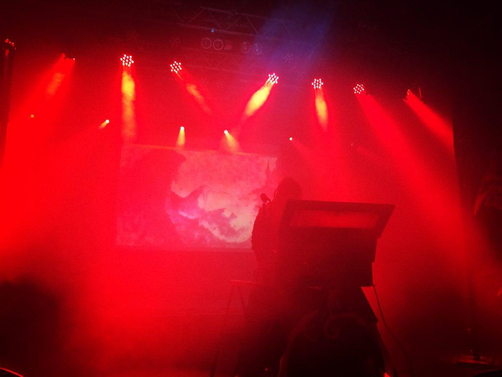 Mortiis live på Fryshuset. Foto: Martin Sernestrand.